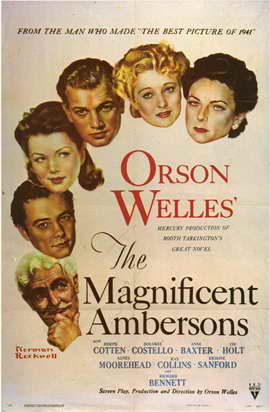 The Magnificent Ambersons - 11 x 17 Movie Poster - Style A