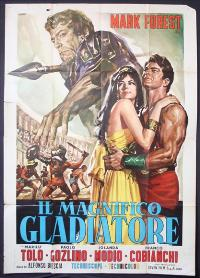 The Magnificent Gladiator - 11 x 17 Movie Poster - Italian Style A