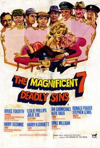 The Magnificent Seven Deadly Sins - 27 x 40 Movie Poster - Style A