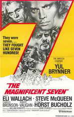 The Magnificent Seven - 11 x 17 Movie Poster - Style D