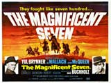 The Magnificent Seven - 30 x 40 Movie Poster UK - Style A