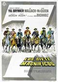 The Magnificent Seven - 27 x 40 Movie Poster - Spanish Style A