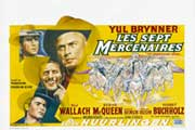 The Magnificent Seven - 11 x 14 Poster French Style A