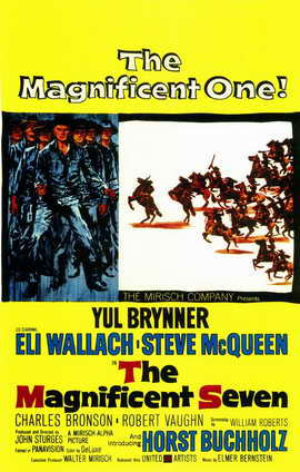 The Magnificent Seven - 11 x 17 Movie Poster - Style A