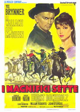 The Magnificent Seven - 11 x 17 Movie Poster - Italian Style A