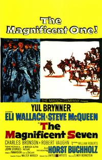 The Magnificent Seven - 43 x 62 Movie Poster - Bus Shelter Style A