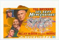 The Magnificent Seven - 11 x 17 Movie Poster - Belgian Style A
