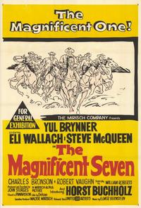 The Magnificent Seven - 27 x 40 Movie Poster - Style B