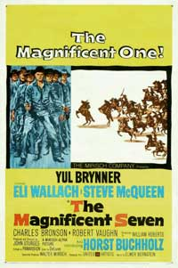 The Magnificent Seven - 27 x 40 Movie Poster - Style D