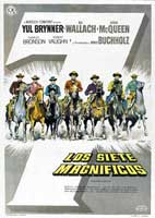 The Magnificent Seven - 11 x 17 Movie Poster - Spanish Style A