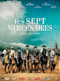 The Magnificent Seven - 11 x 17 Movie Poster - French Style A