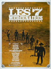 The Magnificent Seven - 11 x 17 Movie Poster - Japanese Style B