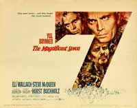 The Magnificent Seven - 11 x 17 Movie Poster - German Style A