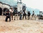 The Magnificent Seven - Magnificent Seven Cowboy's Gunfight in Movie Scene
