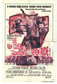 The Magnificent Seven Ride - 27 x 40 Movie Poster - Style A