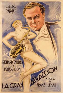The Main Attraction - 11 x 17 Movie Poster - Spanish Style A