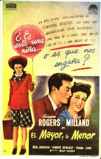 The Major and the Minor - 11 x 17 Movie Poster - Spanish Style A