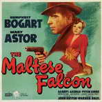 The Maltese Falcon - 30 x 30 Movie Poster - Style A
