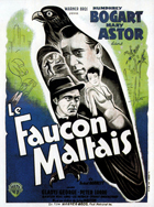 The Maltese Falcon - 11 x 17 Movie Poster - French Style D