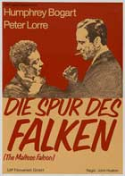 The Maltese Falcon - 27 x 40 Movie Poster - German Style C