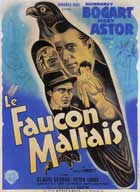 The Maltese Falcon - 27 x 40 Movie Poster - French Style C