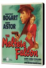The Maltese Falcon - 30 x 30 Movie Poster - Style A - Museum Wrapped Canvas