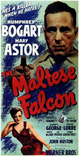 The Maltese Falcon - 11 x 17 Movie Poster - Style C