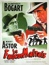 The Maltese Falcon - 11 x 17 Movie Poster - French Style A