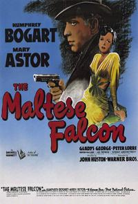 The Maltese Falcon - 11 x 17 Movie Poster - Style E