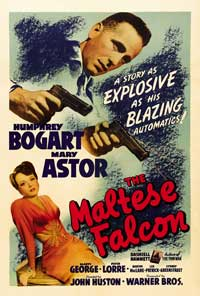 The Maltese Falcon - 27 x 40 Movie Poster