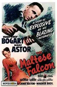 The Maltese Falcon - 43 x 62 Movie Poster - Bus Shelter Style A