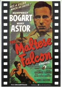 The Maltese Falcon - 11 x 17 Movie Poster - Spanish Style H