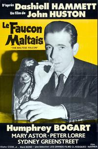 The Maltese Falcon - 11 x 17 Movie Poster - French Style L