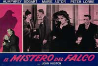 The Maltese Falcon - 11 x 14 Poster Italian Style I