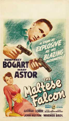 The Maltese Falcon - 20 x 40 Movie Poster - Style A