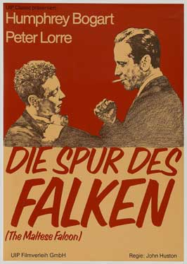 The Maltese Falcon - 11 x 17 Movie Poster - German Style D