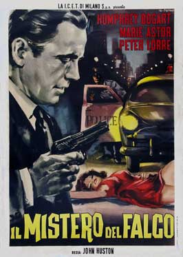 The Maltese Falcon - 27 x 40 Movie Poster - Italian Style A