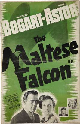 The Maltese Falcon - 27 x 40 Movie Poster - Style K