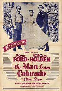 The Man From Colorado - 27 x 40 Movie Poster - Style A