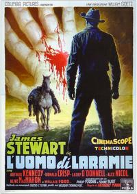 The Man from Laramie - 11 x 17 Movie Poster - Italian Style B