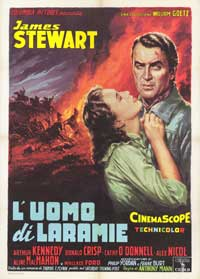 The Man from Laramie - 43 x 62 Movie Poster - Italian Style C