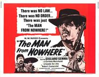 Man From Nowhere - 22 x 28 Movie Poster - Half Sheet Style A
