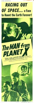 The Man from Planet X - 14 x 36 Movie Poster - Insert Style B