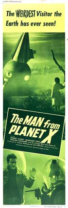The Man from Planet X - 14 x 36 Movie Poster - Insert Style E