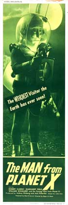 The Man from Planet X - 14 x 36 Movie Poster - Insert Style F