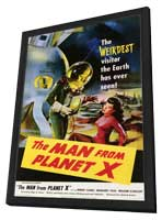 The Man from Planet X - 11 x 17 Movie Poster - Style A - in Deluxe Wood Frame