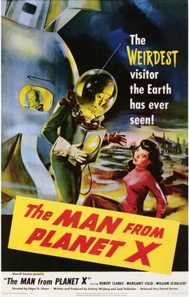 The Man from Planet X - 11 x 17 Movie Poster - Style A