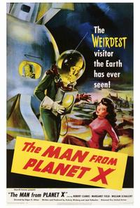The Man from Planet X - 27 x 40 Movie Poster - Style A