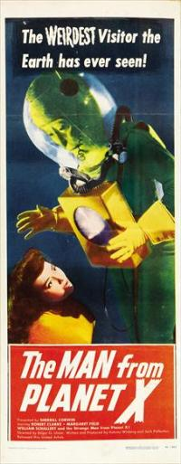 The Man from Planet X - 14 x 36 Movie Poster - Insert Style A