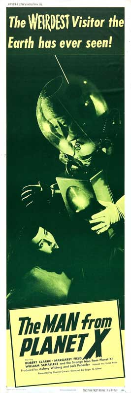 The Man from Planet X - 14 x 36 Movie Poster - Insert Style C